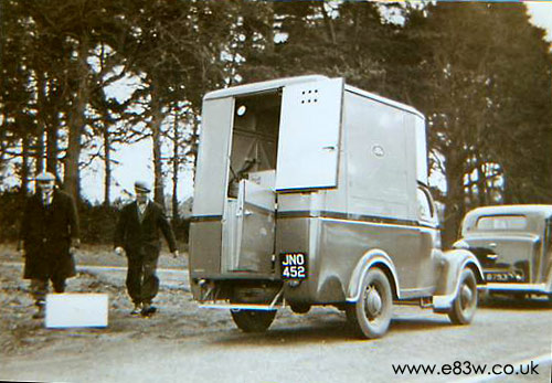 WW2 Ford canteen van