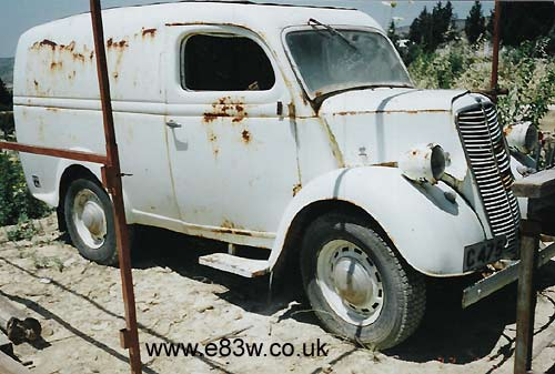 Ford Van No.2 in Cyprus
