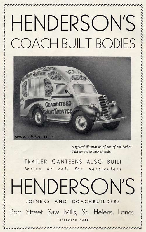 Hendersons special bodies