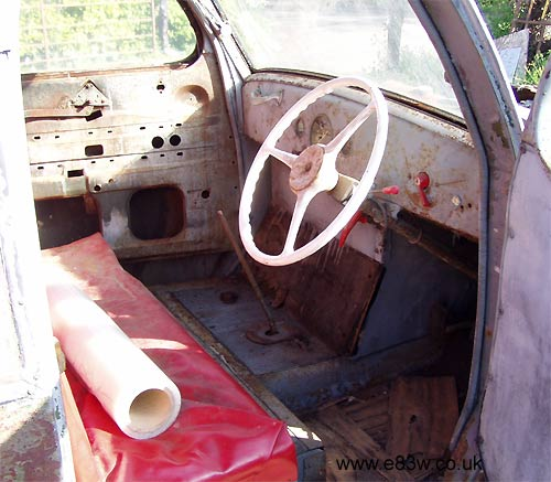 interior and dashboard